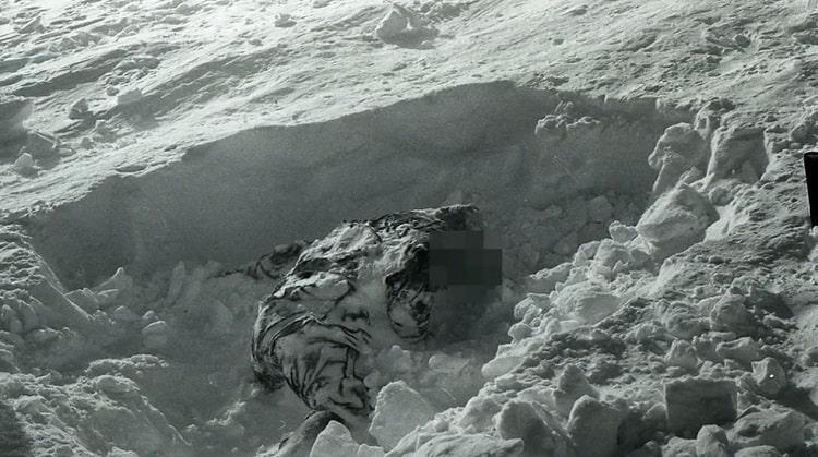 حادثه گذرگاه دیتلوف: سومین جسد