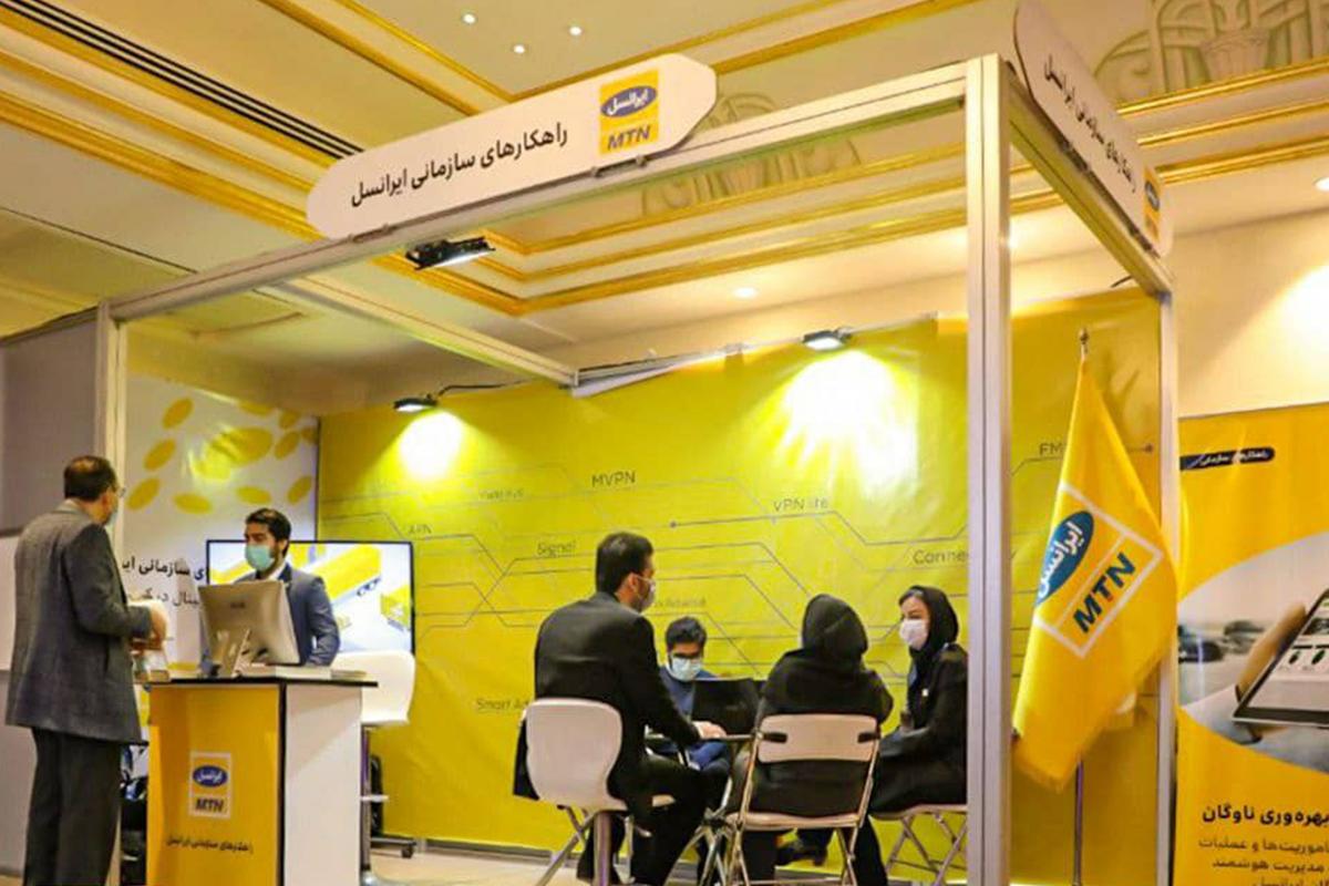 ایرانسل نمایشگاه تراکنش ایران را ازطریق تلویزیون اینترنتی لنز پوشش میدهد