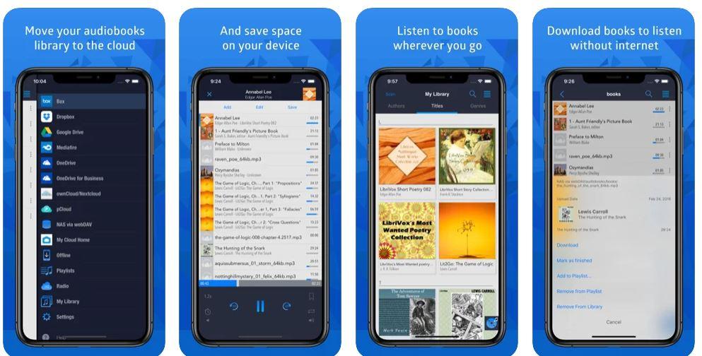اپلیکیشنCloudbeats audiobooks offline