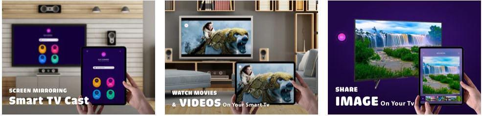 اپلیکیشنScreen Mirroring A-Z TV Cast