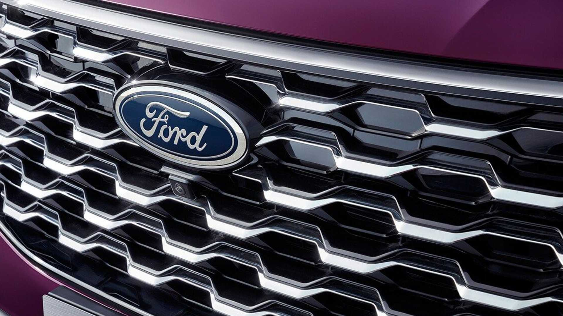 جلوپنجره شاسی بلند فورد اکویتور / Ford Equator SUV رنگ بنفش