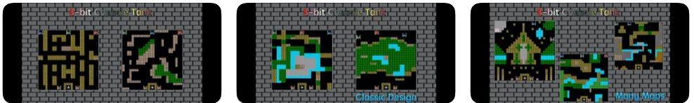 بازی 8bit Console Tank