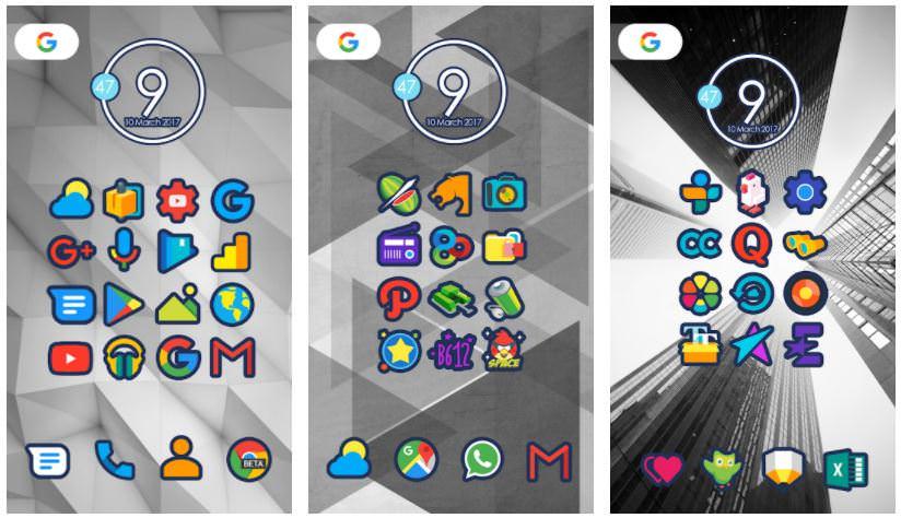 اپلیکیشن Cute Icon Pack