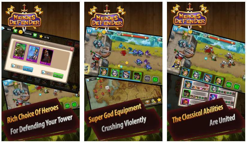 بازیDefender Heroes Premium: Castle Defense