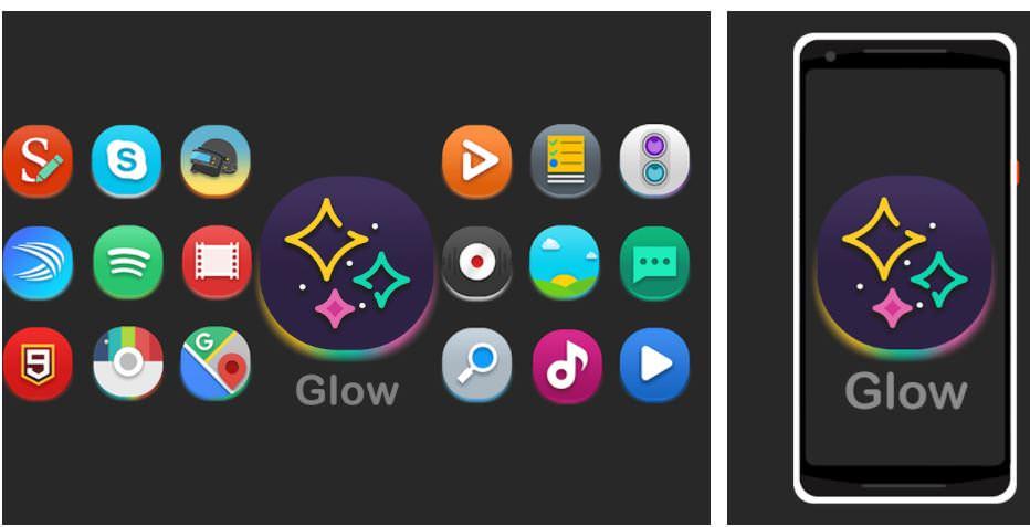 اپلیکیشنGlow - Icon Pack