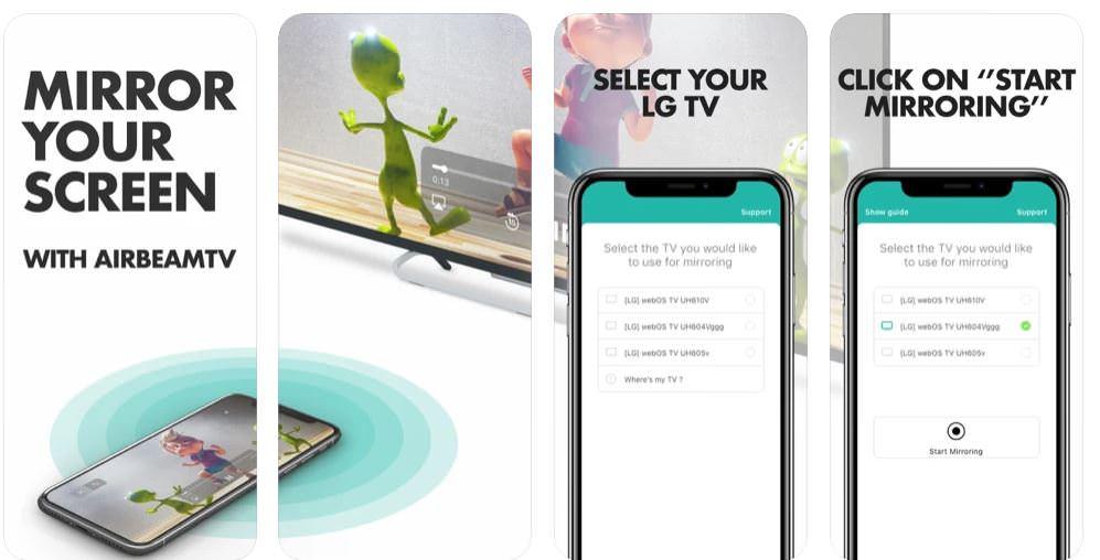 اپلیکیشن Mirror for LG Smart TV