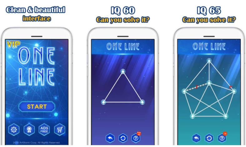 بازیOne Line Deluxe VIP