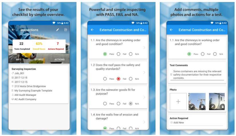 اپلیکیشن OnSite Checklist