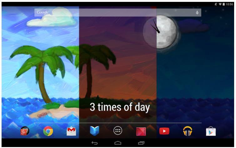 اپلیکیشن Paper Ocean Live Wallpaper
