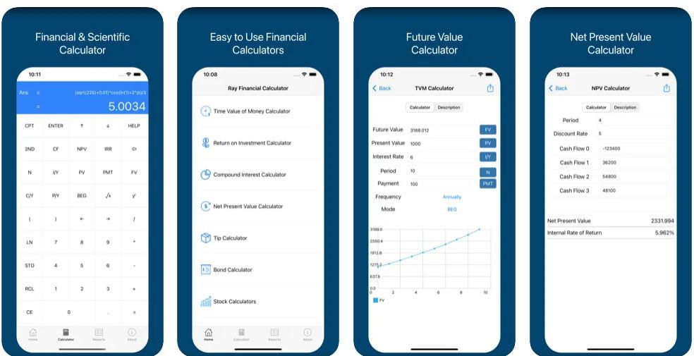 اپلیکیشن Ray Financial Calculator