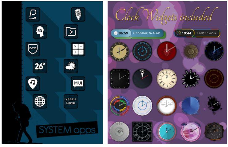 اپلیکیشنRaya Black Icon Pack