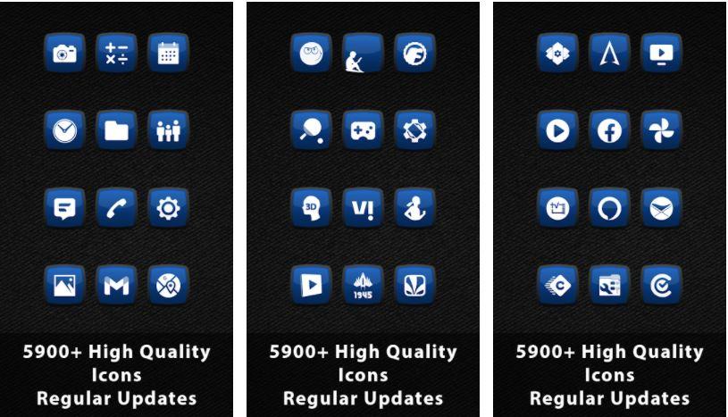 اپلیکیشن Royale Anna Blue Icons