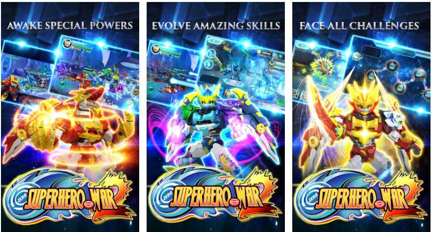 بازیSuperhero War Premium