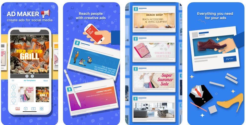 اپلیکیشن Ad Maker for Ads & Banners
