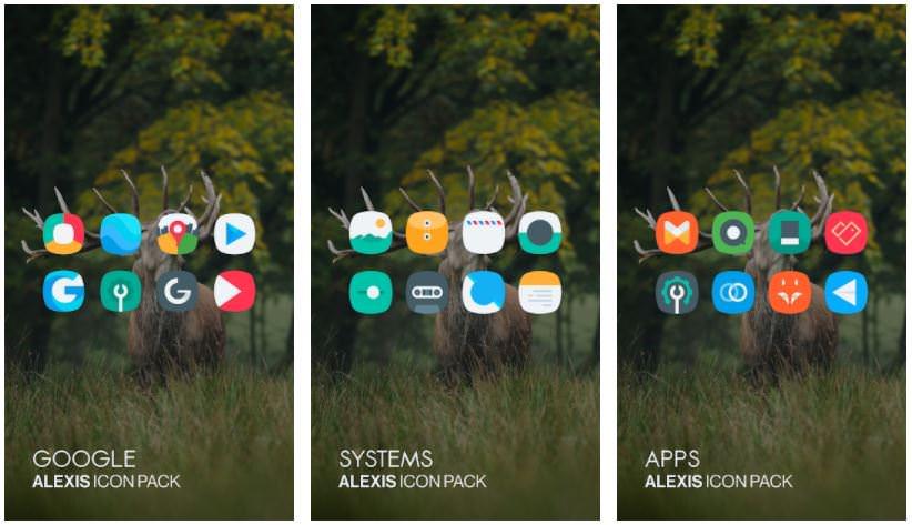 اپلیکیشنAlexis Icon Pack