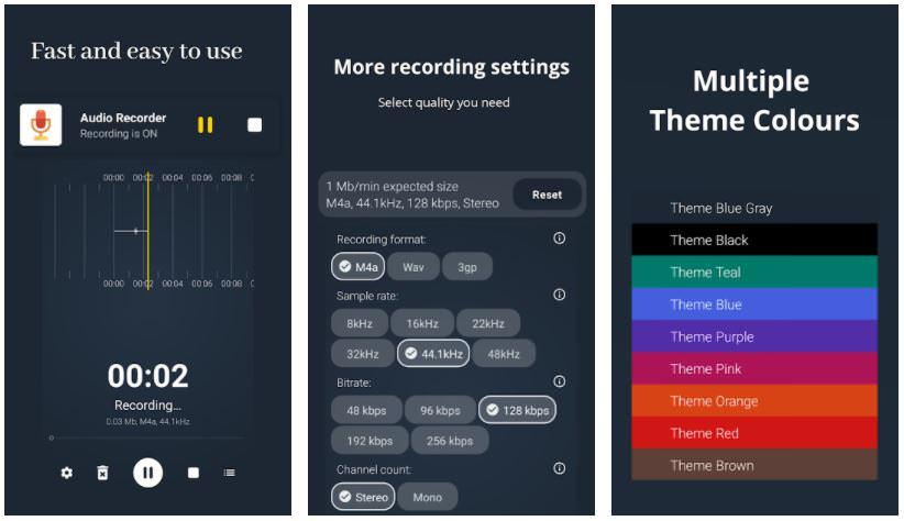 اپلیکیشنAudio Recorder