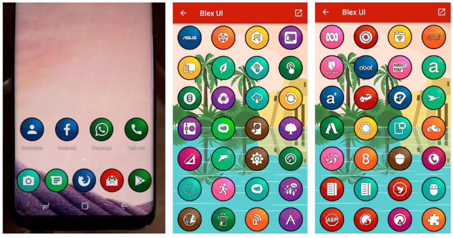 اپلیکیشنBlex UI - Icon Pack