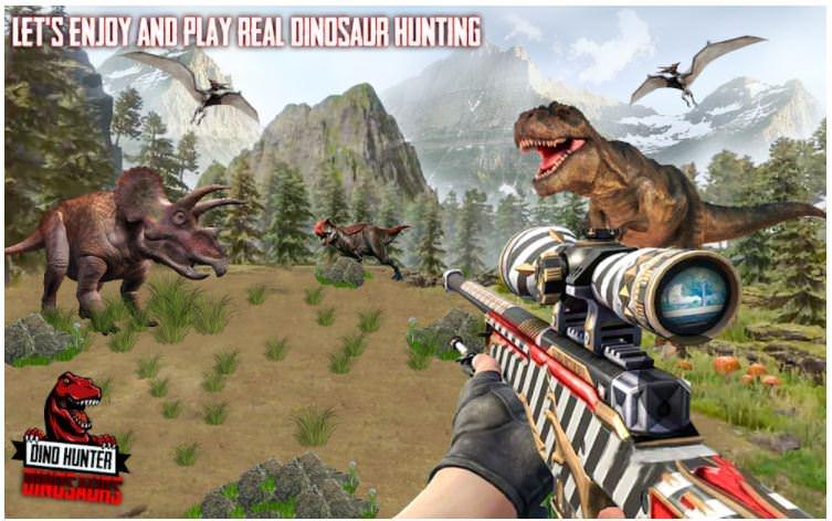 بازیDino Hunter: Deadly Dinosaurs Park