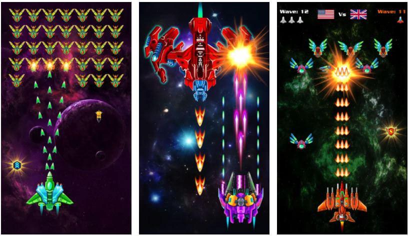بازیGalaxy Attack: Alien Shooter