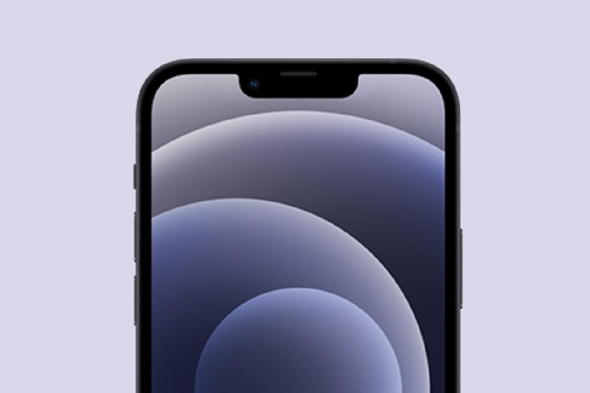 ماکت آیفون ۱۳ ناچ کوچک این گوشی را به نمایش میگذارد