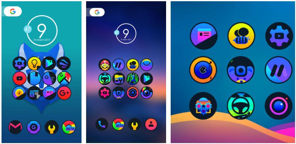 اپلیکیشن Luver - Icon Pack