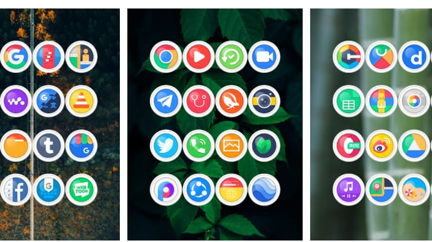 اپلیکیشن Minka Light - Icon Pack
