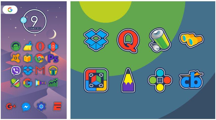 اپلیکیشنNomo - Icon Pack
