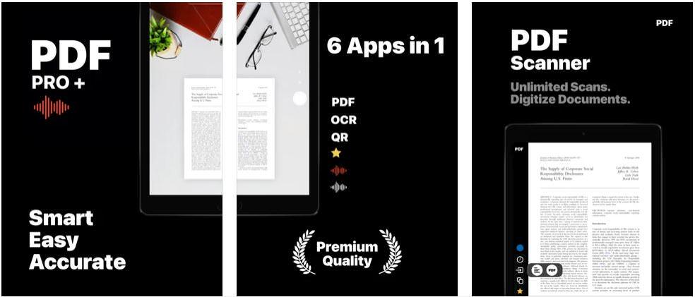 اپلیکیشن +PDF Pro