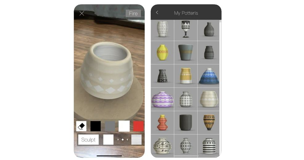 اپلیکیشن Pottery AR