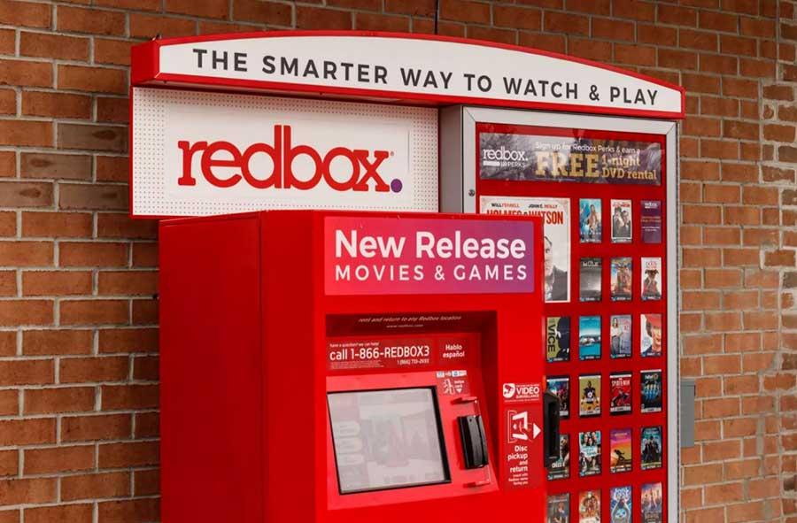 برند کرایه فیلم Redbox