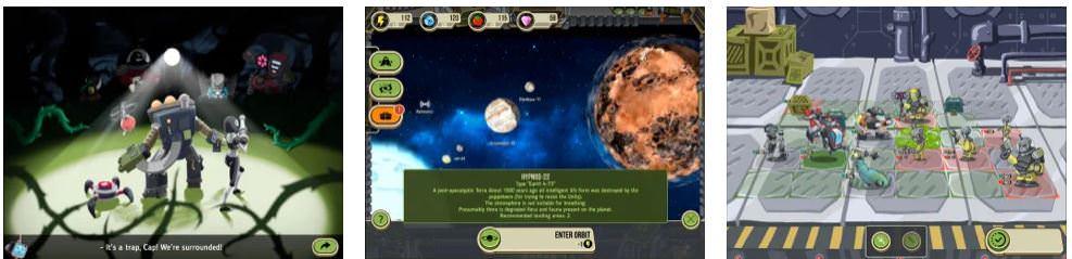 بازی Space Raiders RPG