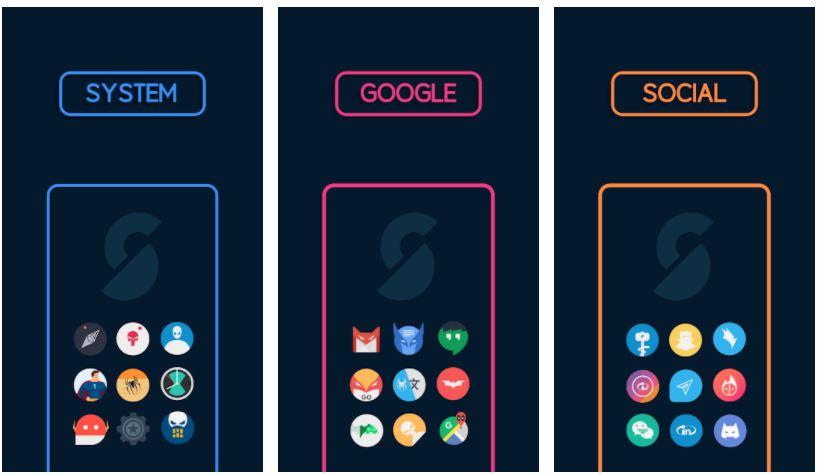اپلیکیشنSupercons - The Superhero Icon Pack