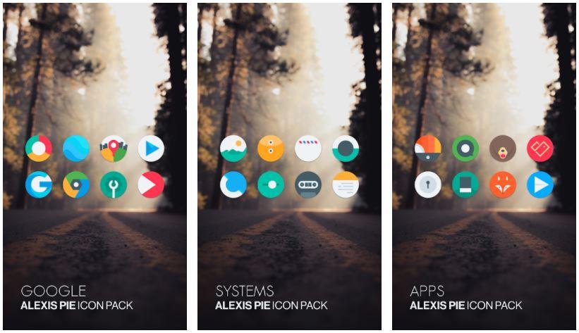 اپلیکیشنAlexis Pie Icon Pack