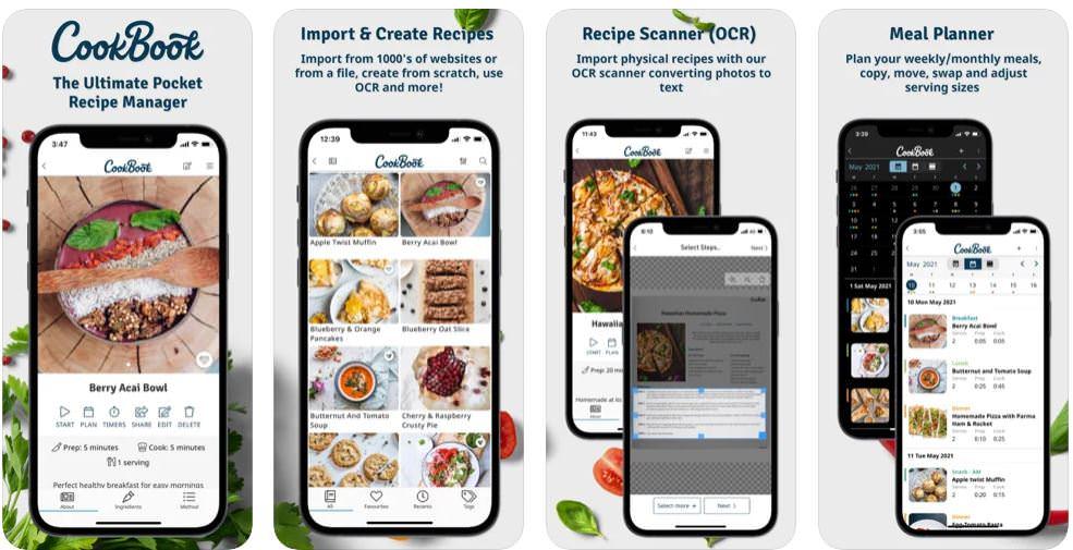 اپلیکیشن CookBook