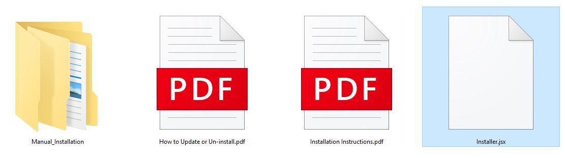 آموزش نصب پلاگین در فتوشاپ 2020 / انتخاب فایل نصب