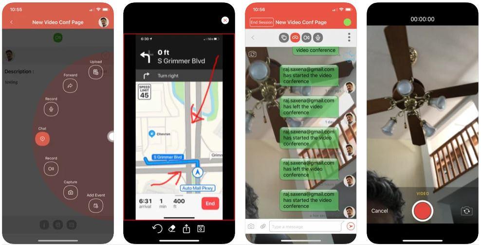 اپلیکیشن OnePgr Meet for Video Calls