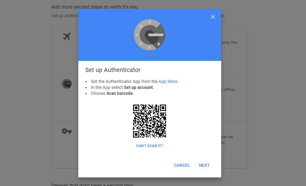 اسکن کد QR گوگل
