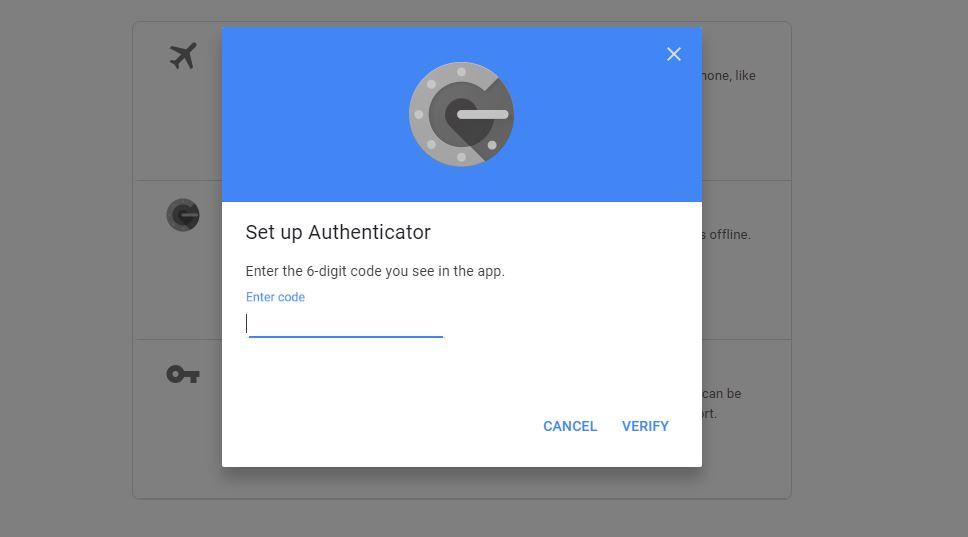 راه اندازی google authenticator