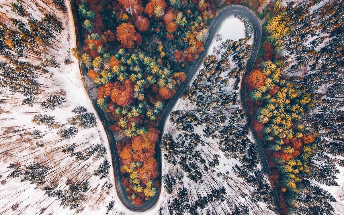 سرزمین دراکولا؛ تصاویر هوایی خیرهکننده از ترانسیلوانیا