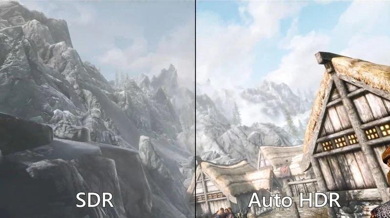 قابلیت auto HDR ویندوز ۱۱