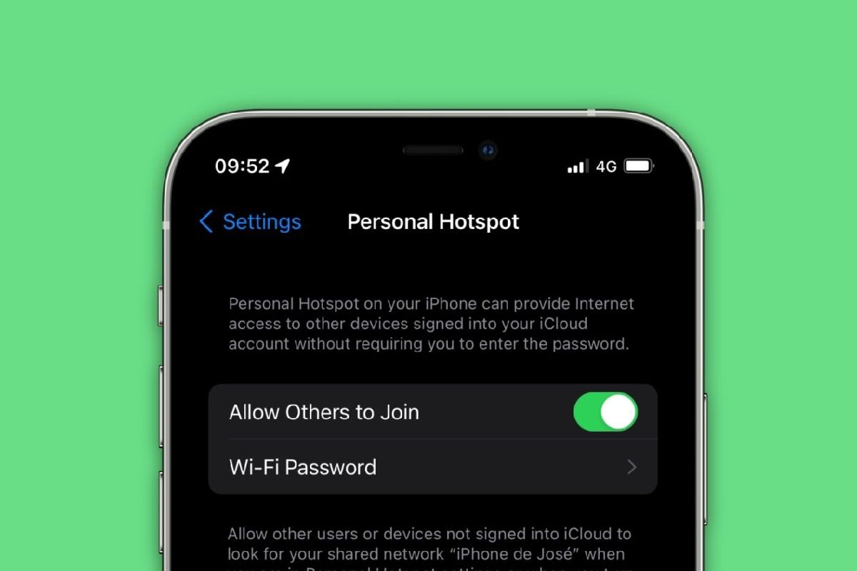 iOS 15 از هاتاسپات با پروتکل امنیتی WPA3 پشتیبانی میکند