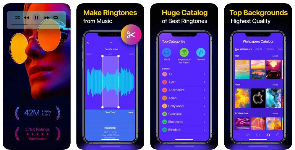 بهترین اپلیکیشن آیفون ringtones for iphone