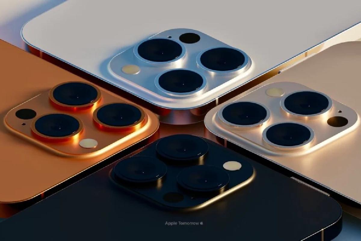 تصاویر رندر، گزینههای رنگ جدید آیفون ۱۳ پرو را نشان میدهند