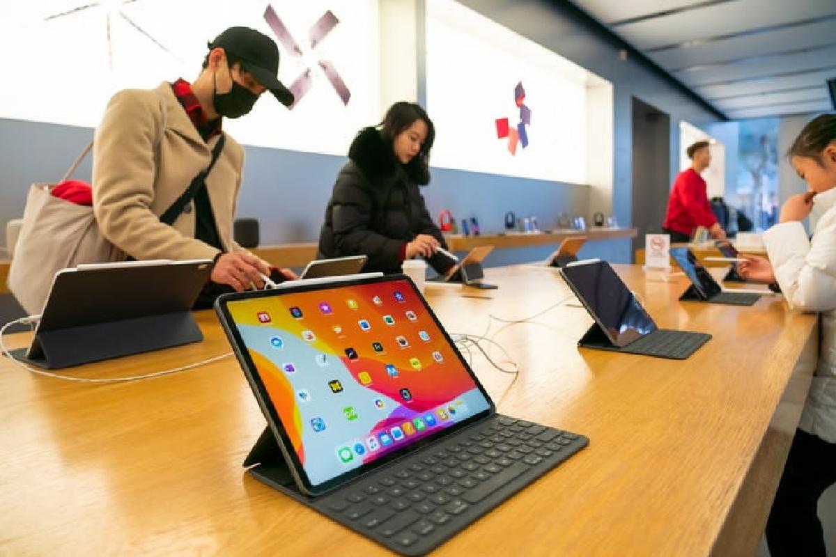 سلطه اپل بر بازار جهانی تبلتها با عرضه ۱۲٫۹ میلیون آیپد در سه ماهه دوم ۲۰۲۱