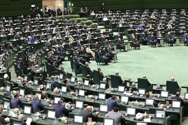ابراهیم رییسی در صحن علنی مجلس برای رای اعتماد به اعضای کابینه