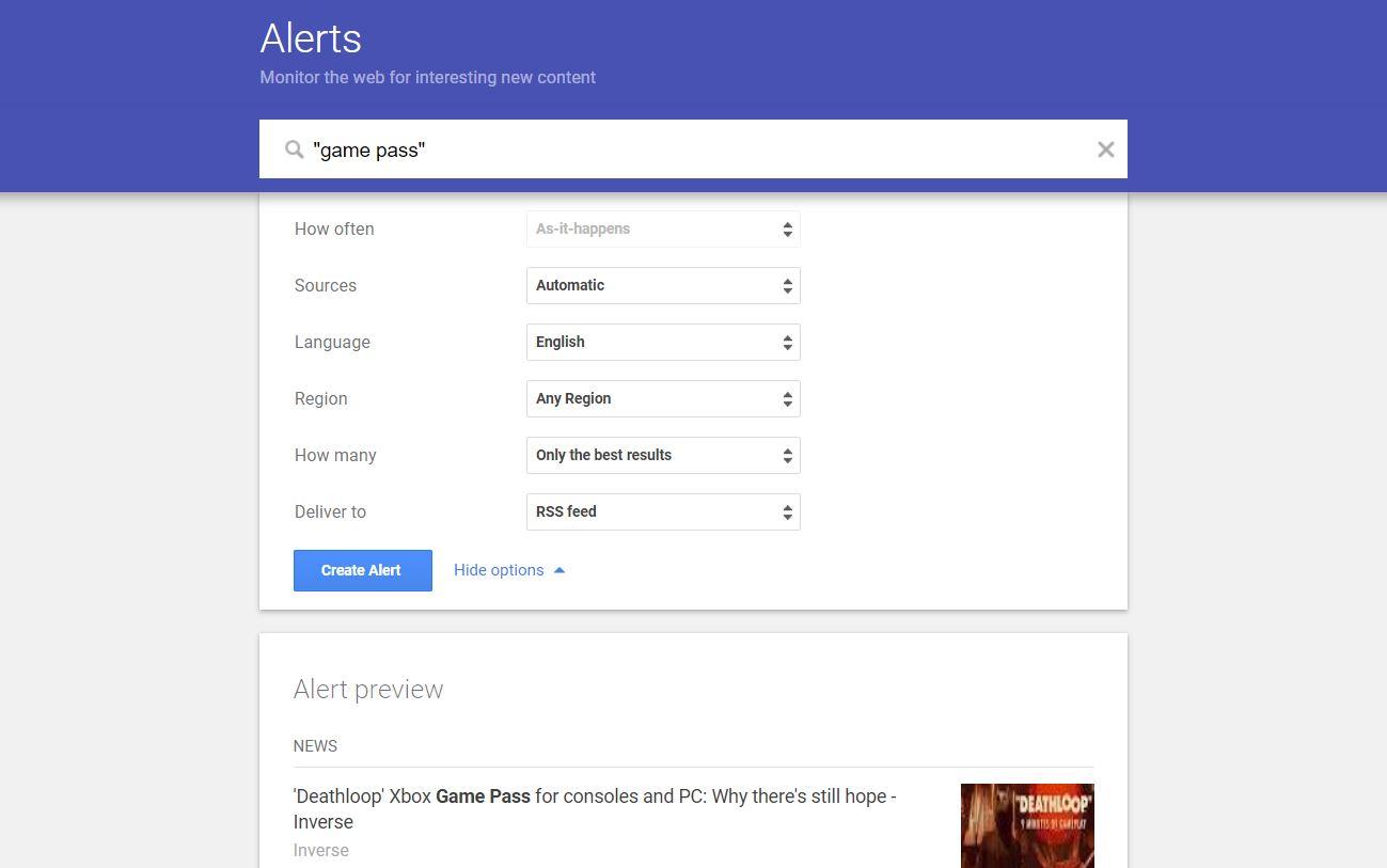 ترفندهای سرچ گوگل - alarms