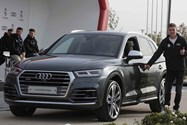 real madrid audi