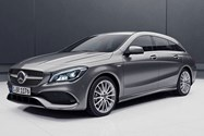 مرسدس بنز CLA Shooting Brake Night Edition