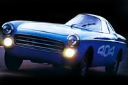 Peugeot 404 Diesel Record Car
