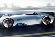 Mercedes Benz EQ Silver Arrow Concept